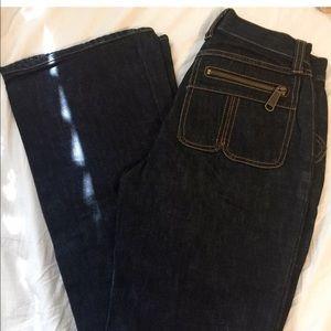 Dolce & Gabbana Ittierre Zip Pocket Flare Jeans